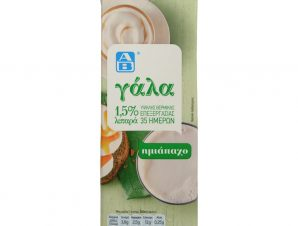 Γάλα Υψηλής Θερμικής Επεξεργασίας Ελαφρύ 1lt