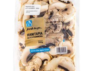 Μανιτάρια Κομμένα Agaricus 300 gr