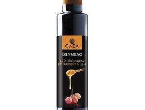 """Ξίδι βαλσάμικο με θυμαρίσιο μέλι «Οξύμελο» """"Gaea"""" 250ml>"""