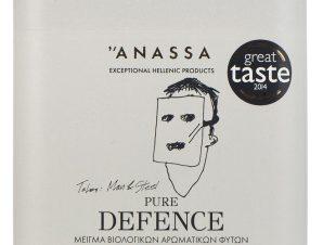 """Μείγμα βιολογικών αρωματικών φυτών «Pure Defence» """"Anassa Organics"""" 30g>"""