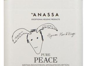 """Μείγμα βιολογικών αρωματικών φυτών «Pure Peace» """"Anassa Organics"""" 30g>"""