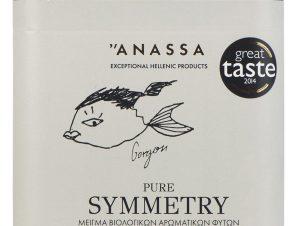 """Μείγμα βιολογικών αρωματικών φυτών «Pure Symmetry» """"Anassa Organics"""" 40g>"""