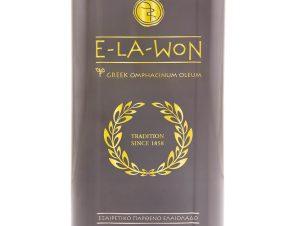 """Εξαιρετικό παρθένο ελαιόλαδο «Traditional» """"Elawon"""" Tin 4L>"""