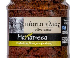 """Πάστα ελιάς Καλαμών """"Μανιάτισσα"""" 240g>"""