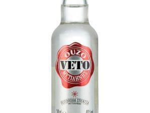 """Ούζο Λέσβου """"Veto"""" 50ml>"""