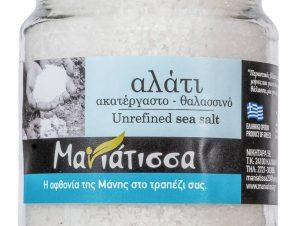 """Θαλασσινό αλάτι Μάνης """"Μανιάτισσα"""" 160g>"""