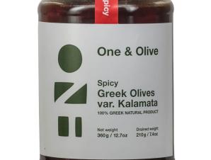 """Πικάντικες ελιές Καλαμών «One & Olive» """"Αναγνωστόπουλος"""" 210g>"""
