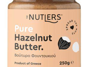 """Βούτυρο φουντουκιού, χωρίς ζάχαρη, Βόλου """"The Nutlers"""" 250g>"""