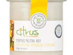 """Παραδοσιακό υποβρύχιο μαστίχας Χίου """"Citrus"""" 230g>"""
