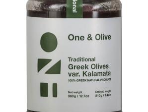 """Παραδοσιακές ελιές Καλαμών «One & Olive» """"Αναγνωστόπουλος"""" 210g>"""
