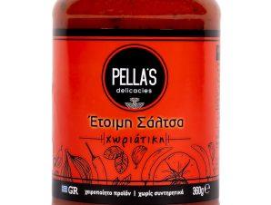 """Σάλτσα τομάτας «Χωριάτικη», Πέλλας """"Pella's Delicasies"""" 360g>"""